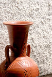 Amphora. Contemporary Greek Amphora Royalty Free Stock Images