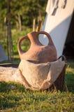 Amphora antico Immagine Stock