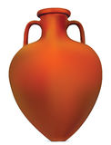 Amphora. Antique Greek amphora. Illustration EPS-10 Stock Image