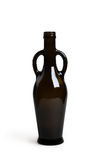 Amphora bottle of dark glass isolated Royalty Free Stock Photo