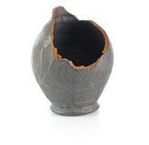 Amphora cassé par Grees image libre de droits