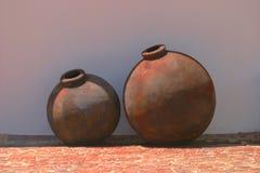 Amphora dois para o vinho Foto de Stock