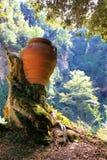Amphora in Gregorian Villa, Tivoli Stock Images