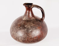 Amphora. Old indian amphora from colombia royalty free stock image