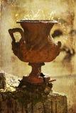Amphora oxidado fotografia de stock royalty free