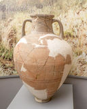 Amphora. 1st century BC. Clay Royalty Free Stock Images