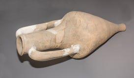 amphora 1st Eeuw BC klei Stock Afbeeldingen