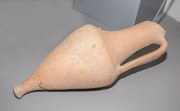 amphora 1st Eeuw BC klei Royalty-vrije Stock Foto