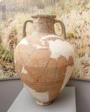 amphora 1st Eeuw BC klei Royalty-vrije Stock Afbeeldingen