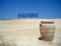 Amphora sur l'île de Giftun Images libres de droits