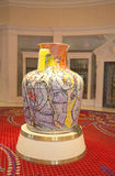 Amphora by Viola Frey at the Wynn Esplanade at the Wynn Hotel and Casino Stock Image