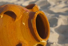 Amphoradetails Stockfoto