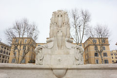 Amphorae的喷泉 免版税库存照片