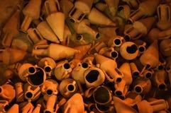 Amphorae древнегреческия. Кипр Стоковая Фотография RF