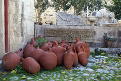 Amphoras Royalty Free Stock Photo