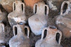 Amphoras antiguos Fotografía de archivo libre de regalías