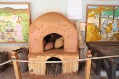 Amphoras in Bodrum Castle, Turkey royalty free stock photos