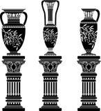 Amphoras e jarro Imagens de Stock