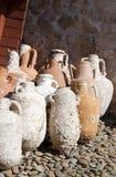 Amphoras group Stock Image