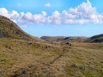Ampia cresta sopra Grasmere, distretto del lago Fotografie Stock