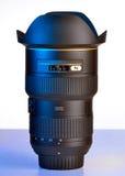 Ampia lente di DSLR Fotografie Stock