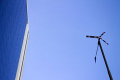 Ampia turbina fotografia stock libera da diritti