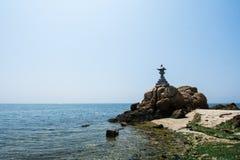 Ampia vista della pagoda Immagini Stock