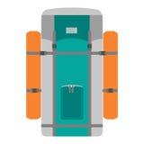 Amping σακίδιο πλάτης Ð ¡ Στοκ εικόνα με δικαίωμα ελεύθερης χρήσης