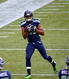 Ampio ricevitore Doug Baldwin di Seattle Seahawks Fotografia Stock