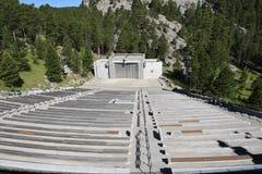 Ampitheater en el monte Rushmore Foto de archivo libre de regalías