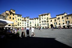 The Ampitheater of Lucca Royalty Free Stock Images