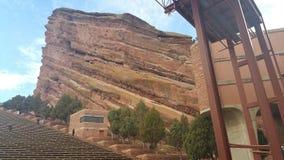 Ampitheater rojo de la roca Imagen de archivo libre de regalías