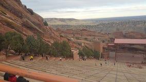 Ampitheater rosso della roccia Immagine Stock