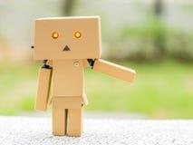 Amplíe la muñeca de la caja del brazo Imagen de archivo libre de regalías