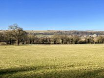 Ampleforth valley, Yorkshire in Winter Stock Photos