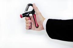 Ampliador de la mano Músculo del brazo del entrenamiento Imagenes de archivo