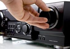 amplifer audio Fotografering för Bildbyråer