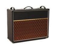 Amplificador da guitarra foto de stock