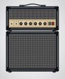 Amplificador da guitarra do vetor Fotografia de Stock Royalty Free