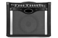 Amplificador de la guitarra Fotografía de archivo