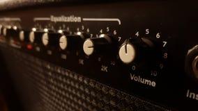 Amplificador de la música imagenes de archivo