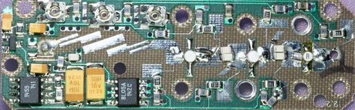 Amplificador de la microonda Fotos de archivo libres de regalías