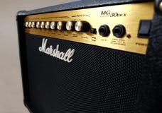 Amplificador de Marshall 30DFX imagem de stock royalty free