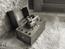 Amplificador del micrófono Imágenes de archivo libres de regalías