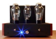 Amplificador del tubo de vacío Fotografía de archivo