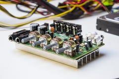 Amplificador do cartão-matriz imagem de stock royalty free