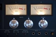 Amplificador moderno antiguo Fotos de archivo