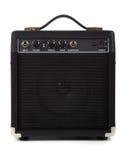 Amplificador ou altofalante da guitarra fotos de stock