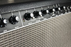 Amplificador retro da guitarra Fotos de Stock Royalty Free