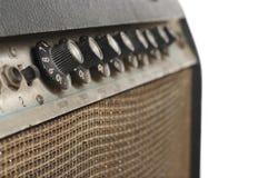 Amplificador viejo de la guitarra Foto de archivo